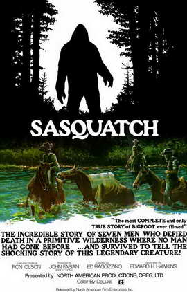 Sasquatch, the Legend of Bigfoot - 11 x 17 Movie Poster - Style A