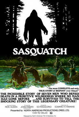 Sasquatch, the Legend of Bigfoot - 27 x 40 Movie Poster - Style A