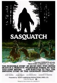 Sasquatch, the Legend of Bigfoot - 43 x 62 Movie Poster - Bus Shelter Style A