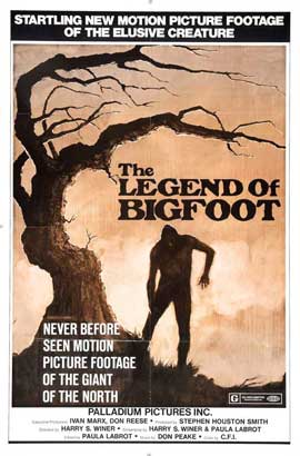 Sasquatch, the Legend of Bigfoot - 11 x 17 Movie Poster - Style B