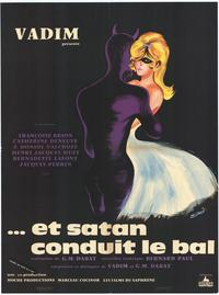 Satan Leads the Dance - 11 x 17 Movie Poster - French Style A