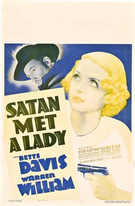 Satan Met a Lady - 27 x 40 Movie Poster - Style A