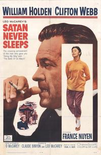 Satan Never Sleeps - 11 x 17 Movie Poster - Style A