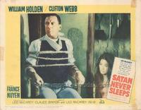 Satan Never Sleeps - 11 x 14 Movie Poster - Style B