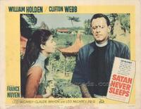 Satan Never Sleeps - 11 x 14 Movie Poster - Style D