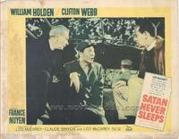 Satan Never Sleeps - 11 x 14 Movie Poster - Style G