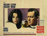 Satan Never Sleeps - 22 x 28 Movie Poster - Half Sheet Style A