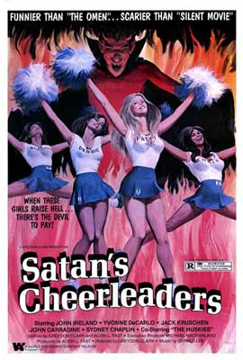 Satan's Cheerleaders - 27 x 40 Movie Poster - Style A