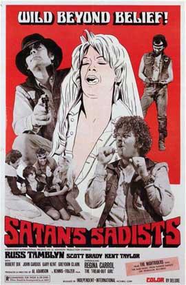 Satan's Sadists - 11 x 17 Movie Poster - Style A