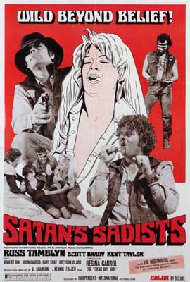 Satan's Sadists - 27 x 40 Movie Poster - Style A