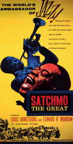 Satchmo the Great - 11 x 17 Movie Poster - Style A