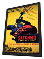 Satchmo the Great - 11 x 17 Movie Poster - Style A - in Deluxe Wood Frame
