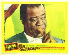 Satchmo the Great - 11 x 14 Movie Poster - Style A