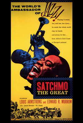 Satchmo the Great - 27 x 40 Movie Poster - Style A