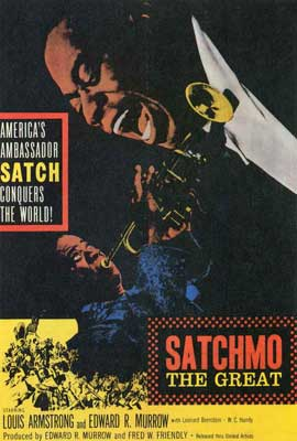 Satchmo the Great - 27 x 40 Movie Poster - Style B