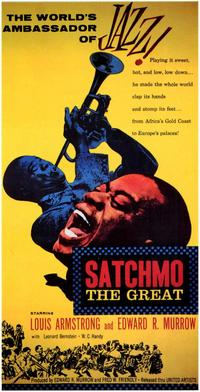 Satchmo the Great - 43 x 62 Movie Poster - Bus Shelter Style A