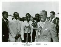 Satchmo the Great - 8 x 10 B&W Photo #1