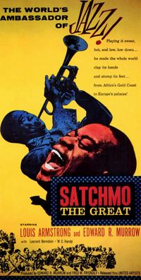 Satchmo the Great - 11 x 17 Movie Poster - Style A - Museum Wrapped Canvas