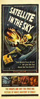 Satellite in the Sky - 14 x 36 Movie Poster - Insert Style A
