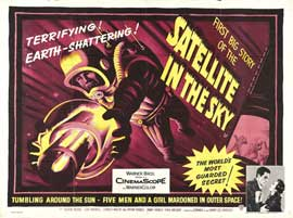 Satellite in the Sky - 22 x 28 Movie Poster - Half Sheet Style A