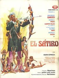 Satiro, El - 11 x 17 Movie Poster - Spanish Style A