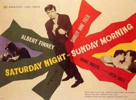 Saturday Night and Sunday Morning - 11 x 14 Movie Poster - Style A
