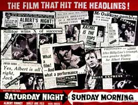 Saturday Night and Sunday Morning - 11 x 17 Movie Poster - Style A