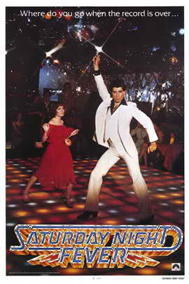 Saturday Night Fever - 11 x 17 Movie Poster - Style A