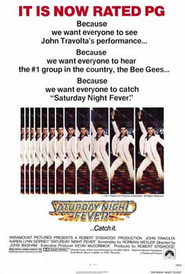 Saturday Night Fever - 11 x 17 Movie Poster - Style B
