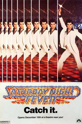 Saturday Night Fever - 11 x 17 Movie Poster - Style C