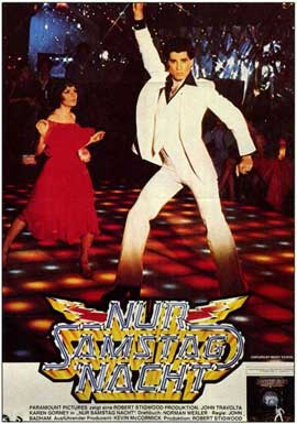 Saturday Night Fever - 11 x 17 Movie Poster - German Style A