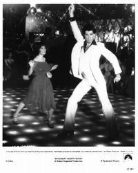 Saturday Night Fever - 8 x 10 B&W Photo #1