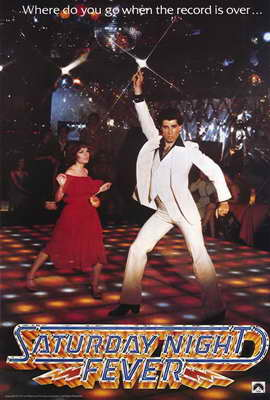 Saturday Night Fever - 27 x 40 Movie Poster - Style A