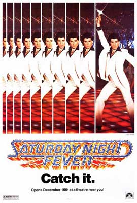 Saturday Night Fever - 27 x 40 Movie Poster - Style B