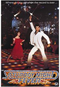 Saturday Night Fever - 43 x 62 Movie Poster - Bus Shelter Style A