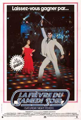 Saturday Night Fever - 11 x 17 Movie Poster - French Style A