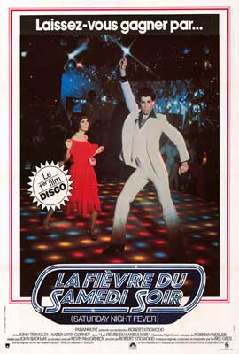 Saturday Night Fever - 27 x 40 Movie Poster - French Style A