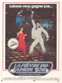 Saturday Night Fever - 43 x 62 Movie Poster - French Style A
