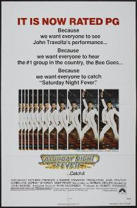Saturday Night Fever - 27 x 40 Movie Poster - Style C