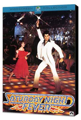 Saturday Night Fever - 27 x 40 Movie Poster - Style F - Museum Wrapped Canvas