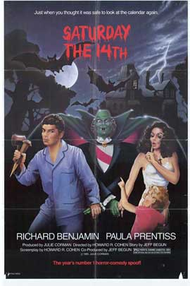 Saturday the 14th - 27 x 40 Movie Poster - Style A