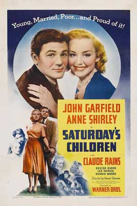 Saturday's Children - 11 x 17 Movie Poster - Style A