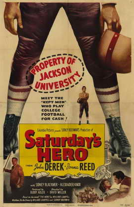Saturday's Hero - 11 x 17 Movie Poster - Style A