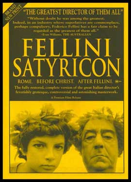 Satyricon - 11 x 17 Movie Poster - Style C