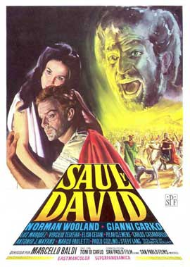 Saul and David - 11 x 17 Movie Poster - Spanish Style A