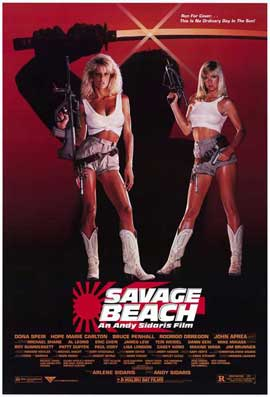 Savage Beach - 11 x 17 Movie Poster - Style A