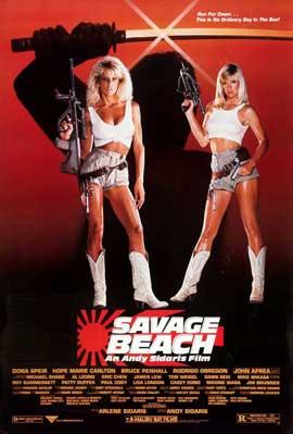 Savage Beach - 11 x 17 Movie Poster - Style B