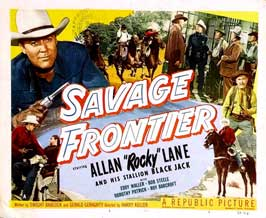 Savage Frontier - 11 x 17 Movie Poster - Style F