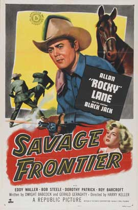 Savage Frontier - 27 x 40 Movie Poster - Style A