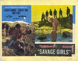 Savage Girls - 11 x 14 Movie Poster - Style B